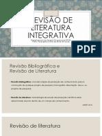 Revisão de Literatura Integrativa Seminario Metodologico