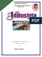 La Industria en Bolivia