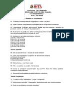 Estudo Dirigido 2 Embriologia Histologia