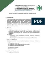 2.6.1.7 Program Kerja Kebersihan Lingkungan Puskesmas