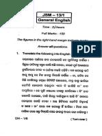 General English 2013