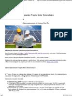 Cálculo do Dimensionamento Projeto Solar Fotovoltaico - AtomRA - Engenharia em Energia Renovável