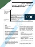 NBR 06750 - Rodas Para Automoveis - Verificacao Da Durabilidade E Resistencia.pdf