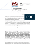 Artigo - Revista Veritas v.63 - N.3 - Lúcio a.marques - Neurociência e Mística. Existe Uma Possibilidade Para Pensar Deus - Ed.edipUCRS - 2018