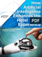 How Artificial Intelligence Enhances the Hotel Guest Experience
