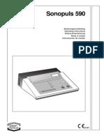 manual sonoplus ultrasonido 390