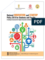 AICTE Innovation and Startup