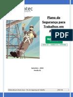 Plano de Segurança Para Trabalhos Em Altura