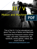Motion and Machines Unit Part III - Download .ppt at www.scienepowerpoint.com