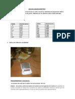 informe laboratorio suelos