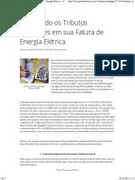 Calculando os Tributos Incidentes em sua Fatura de Energia Elétrica