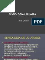 Semiologia Laringe Dr Ortuño