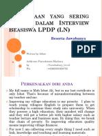 Pertanyaan Lpdp New-1