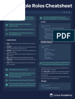 Linux Academy Ansible Roles Cheatsheet