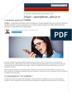 Français Et Numérique _ Smartphone, Plus Je Te Connais, Plus Je t'Aime - ZDNet