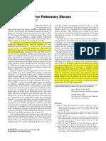 3. Chronic Obstructive Pulmonary Disease