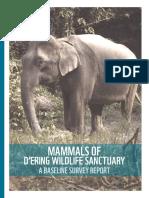 Mammals of D'Ering WLS