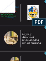 ARTICULOS MINEROS -PERITAJES