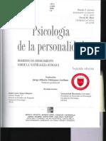 Texto Ps de La Personalidad- Larsen y Buss - Cap 1