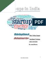 Startups in Inda