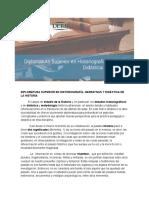 Diplomatura Superior en Historiografía, Narrativas y Didáctica de La Historia