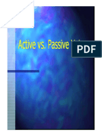 2. Active vs Passive