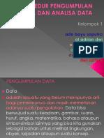 Prosedur Pengumpulan Data Dan Analisa Data - Riset Keperawatan