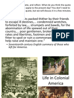 weebly unit 1a part 6 - life in colonial america