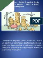 UFCD 7854 Plano de Negócios