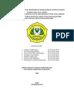 Bismillah Kelompok Mg 1laporan Implementasi Keperawatan Berdasarkan Evidence Based Nursing Practice