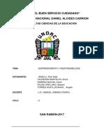 Monografia de Emprendimiento y Responsabilidad