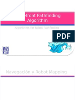 Wavefront Path Finding Algorithm