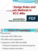 RCC-MRx-Design Rules and Analysis Methods