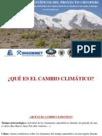 Fundamentos Cientc3adficos Cryoperu Taller Cuzco Agosto 2014
