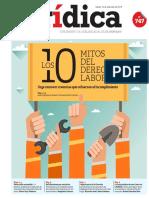 10 Mitos del derecho laboral en Perú