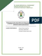 Acido Pirolenoso de La Especie Capirona