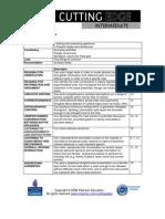 CE Intemediate CEF Bench Marking Module 01