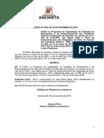 Decreto n 58452018