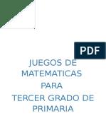 juegos de matemática