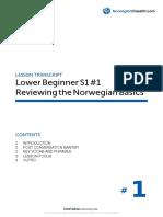 Lower Beginner