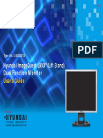 Hyundai Monitor Manual