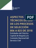 Cartilla 020 Entidades Del Distrito Capital 806 825 de 2018
