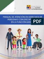 MANUAL DE ATENCIÓN EN DERECHOS CON PERSONAS CON DISCAPACIDAD