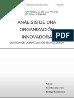 analisis de una organización innovadora