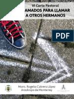 VI carta pastoral Arzobispado de Monterrey