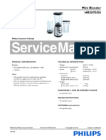 PHILIPS_HR2870-50 Service Manual