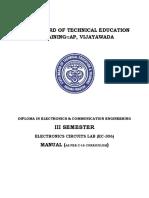 12 Fdp 11 Ec 306 Electronics Circuits Lab Total