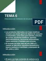 TEMA 6-1 SIn Videos