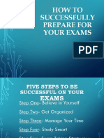 Preparing for Exams.ppt