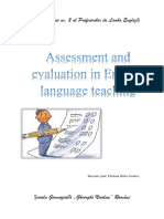 Assessment and Evalution in English Teaching Learning
